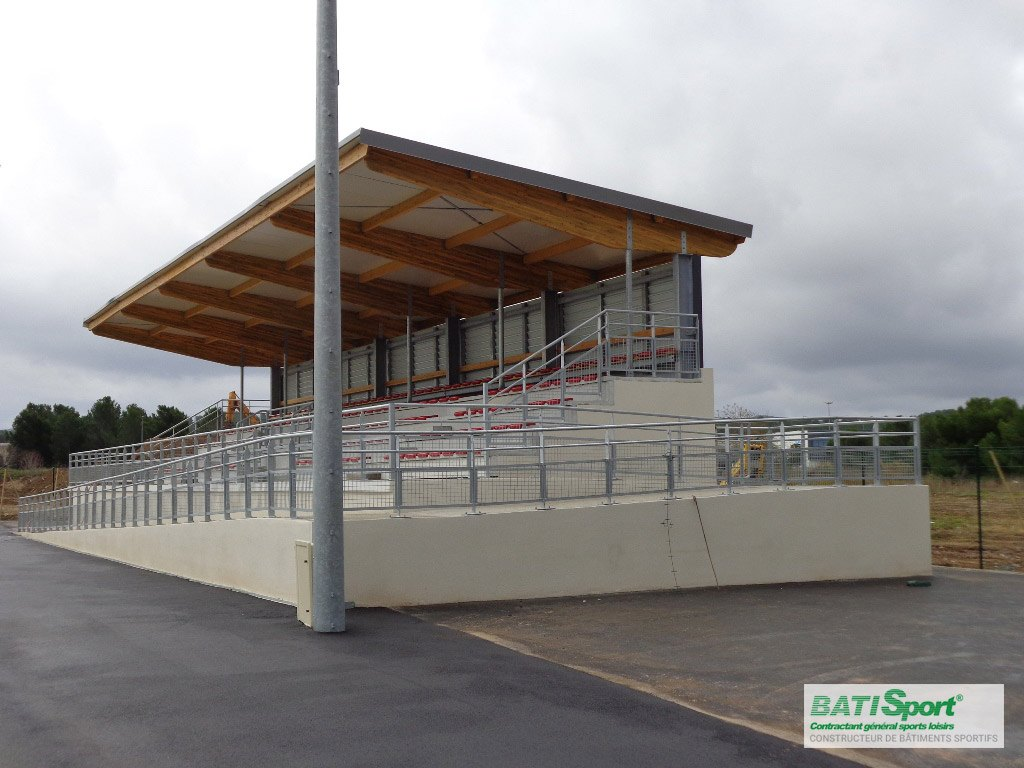 Construction de tribune Batisport