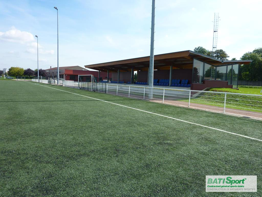 Construction de tribune modulaire Batisport
