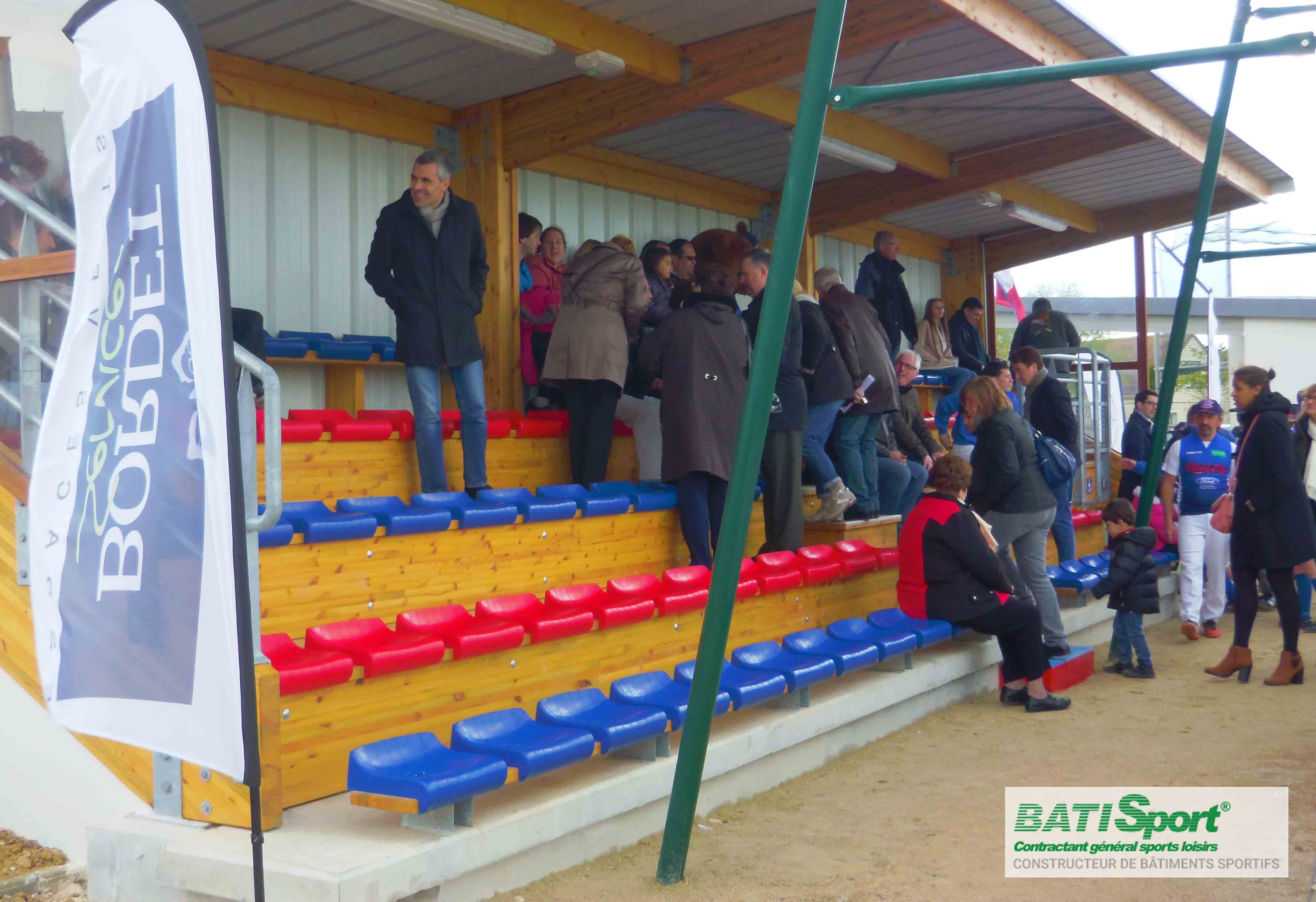 Construction de tribunes Batisport